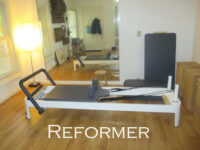 A picture of the Pilates Reformer