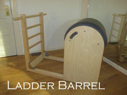 The Pilates Ladder Barrel at A Room For Pilates Studio in Sebastopol, CA.
