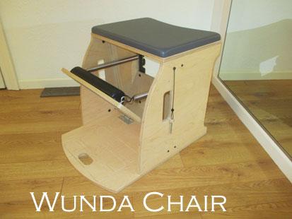 The Pilates Wunda Chair at A Room For Pilates Studio in Sebastopol, CA.