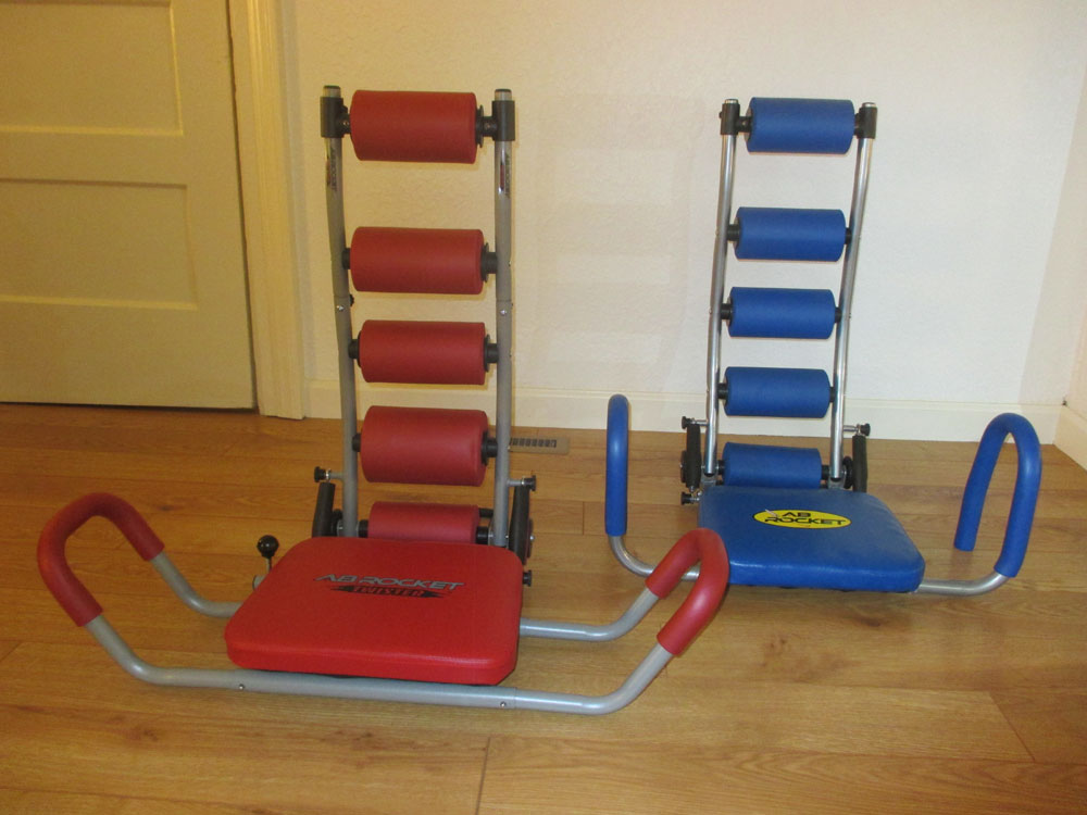 A Chair That Supports The Body During Abdominal Strengthening Exercises!