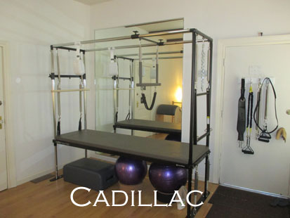 The Pilates Cadillac or Trapeze Table