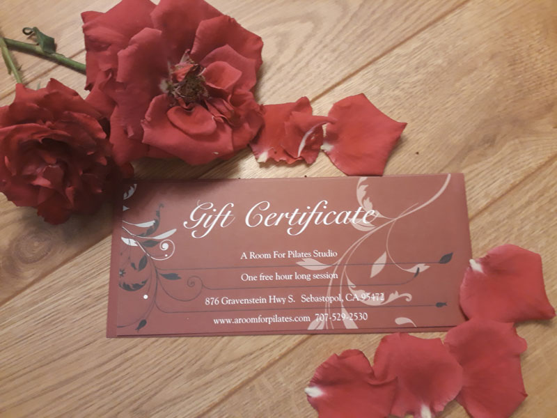 Gift Certificate - A Room For Pilates